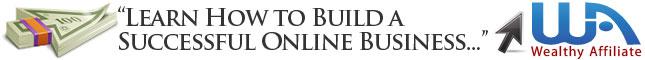 wealthy affiliate, online business, building a website,