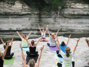 Yoga, stretching, motivation